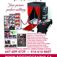 220x220 sq 1433351079382 pwg boothography photo booth ad   lined pics