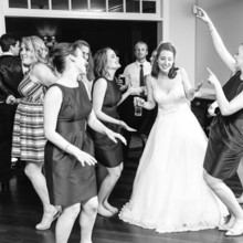 220x220 sq 1507605788564 bride and friends dancing