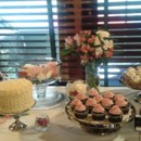 Ginger Lemon Single Tier Wedding Cake, Valrhona Chocolate with Handpureed Raspberry Cupcakes & Spiced Chai Cupcakes