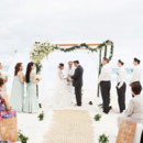 Venue: The Ritz-Carlton, Cancun  Dress Designer: Vera Wang