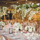 Reception Venue: St. Clair Centre for the Arts  Floral Designer: Floral Scapes Designs by Magdalena   Rentals: Designs by Diane