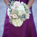 Bridesmaid Dresses: Watters from Lili Bridals  Floral Designer: Claire's Flowers