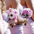 Bridesmaid Dresses:Monique Lhuillier  Floral Designer:Acton Florist