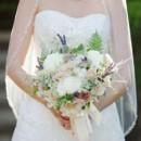 Dress Designer:CasablancafromMonl's Bridal Boutique  Floral Designer:Holly Chapple Flowers