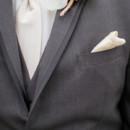 Groom and Groomsmen Attire:Men's Wearhouse  Floral Designer:Black Iris Floral Events