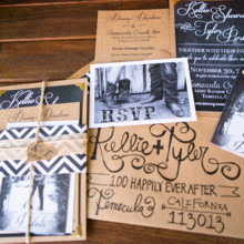 <strong class='info-row'>Boone & Stacie Weddings</strong> <div class='info-row description'><html>  <head></head>  <body>    Invitations: Melissa Weisbender      <div>        </div>   </body> </html></div>