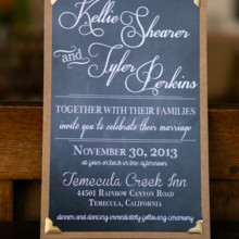<strong class='info-row'>Boone & Stacie Weddings</strong> <div class='info-row description'><html>  <head></head>  <body>    Invitations: Melissa Weisbender       <div>         </div>   </body> </html></div>