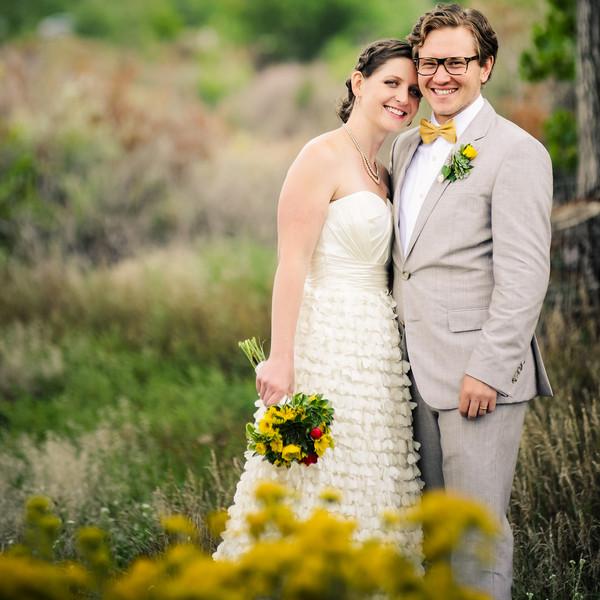 Dress Store: Little White Dress  Jewelry:Anne Sportun  Invitations: Evan Turk  Caterer: Waffle Up  Cake: Azucar Bakery