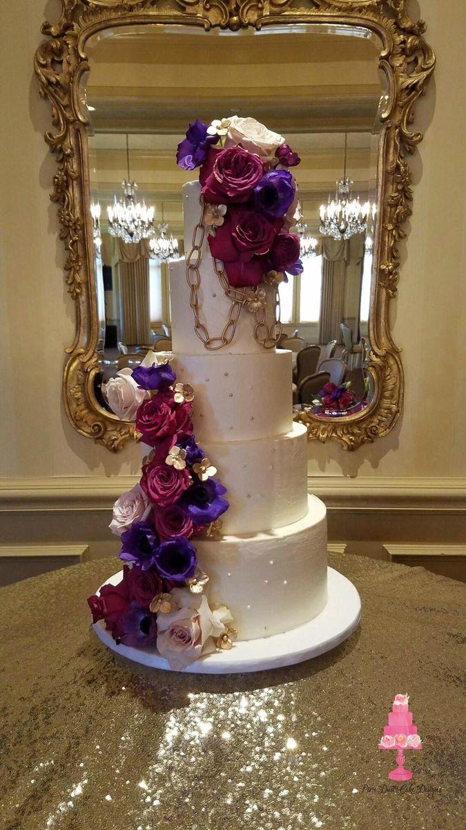 Pixie Dust Cake Designs Wedding Cake Trussville Al