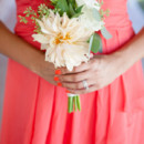 Bridesmaid Dresses: David's Bridal  Floral Designer: Tangled Lotus