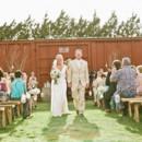 Venue: Cotton Creek Barn  Dress Store: Brides Amarillo  Groom and Groomsmen Attire:Men's Wearhouse