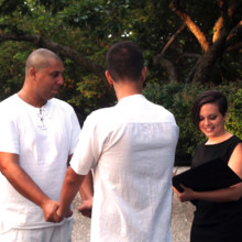 220x220 sq 1402029335308 wedding officiant central park ny