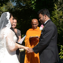 220x220 sq 1458332243214 interfaith wedding ceremony monk celebrant