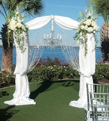 Non Traditional Wedding Arches: Horseshoe Bay, TX Wedding Florist