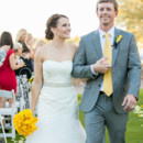 Venue/Caterer: Grayhawk Golf Club  Dress Designer: David's Bridal  Groom and Groomsmen Attire: Jos. A. Bank