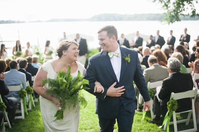 Preppy Green Minnesota Wedding Wedding Real Weddings