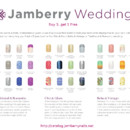 Manicure and pedicure possibilities for the bride and the bridal party in minutes without the risk of nicks, chipping or smudging.