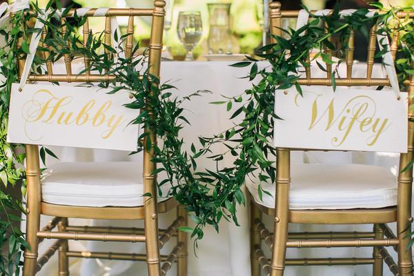 Wedding Greenery Wedding Reception Photos By The Story