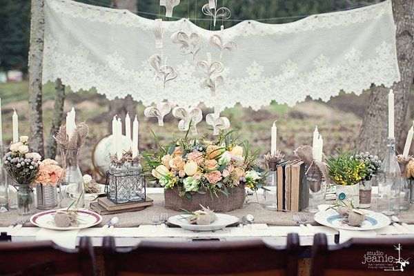Pretty Tablescapes Wedding Reception Photos By Kailey Michelle Events Image 20 Of 37