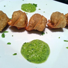 220x220 sq 1404694835483 pork wontons with chimichurri sauce