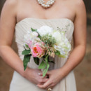 Bridesmaid Dresses: Bill Levkoff from Bridal Gallery  Floral Designer: Greta Gonzales