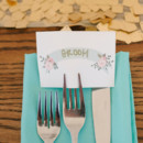 Reception Venue/Caterer: 128 South  Stationery: Minted