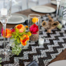 Reception Venue/Caterer: The Clayton on the Park  Day-of Coordinator/Floral Designer: J. Barry Design  Linens: La Tavola  Rentals: Classic Party Rentals