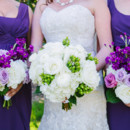 Dress Designer: Maggie Sottero from Aurora Bridal  Bridesmaid Dresses: White by Vera Wang from David's Bridal  Floral Designer: Pretty Petals of Charleston