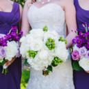 Dress Designer:Maggie SotterofromAurora Bridal  Bridesmaid Dresses:White by Vera Wang from David's Bridal  Floral Designer:Pretty Petals of Charleston