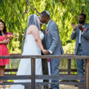 Ceremony Venue: The Japanese Garden  Dress Store: Brides by Liza  Groom and Groomsmen Attire: Friar Tux