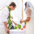 Dress Designer:Temperley LondonfromKleinfield Bridal  Groom and Groomsmen Attire:Tommy Bahama