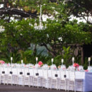 Venue/Caterer/Cake: Mauna Kea Beach Hotel  Event Planner: Hawaii Weddings by Tori Rogers, LLC  Floral Designer: Dellables