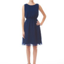 Tina Short A tie back dress that is still bra friendly! This elastic waisted dress is just as enchanting coming as it is going. The shorter length is thoroughly suited for a warmer weather wedding or the bridal shower! Variety of colors available