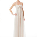Tatum Long Flirty and elegant, this effortless chiffon gown is multi-functional allowing you to wear the gown in different styles. The convertible straps allow you to create a one-shoulder, halter or strapless style with a bow in the front. The gown features a sweetheart neckline and flatters all figures. Variety of colors available