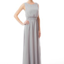 Tina Long Unique dress with a more modest neckline and a lovely bowtie back, this sleeveless dress comes with a sash but also looks beautiful with our optional hard belt. Variety of colors available