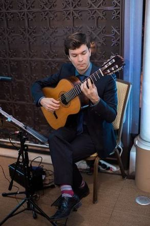 Classical Guitarist Cameron O'Connor