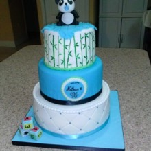 220x220 Sq 1464724583435 Panda Baby Shower Cake