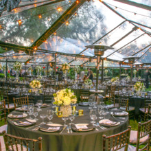220x220 sq 1493226016710 clear tent garden reception 5