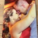 custom color photo on 11x14 canvas