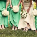 Dress Designer:Romona Keveza  Floral Designer:Urban Flowers