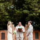 Ceremony Venue: Shakespeare's Garden  Dress Designer: Romona Keveza  Groom and Groomsmen Attire: Selix