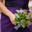 Bridesmaid Dresses:Vera WangfromDavid's Bridal  Floral Designer:Ambiance Expressing You