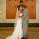 Venue:Memorial Hall  Dress Designer:Mori LeefromCincinnati Bridal and Formal  Groom and Groomsmen Attire:President Tuxedo