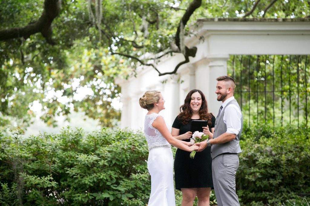 Tracy Brisson Wedding Officiant Savannah Custom Weddings Elopements
