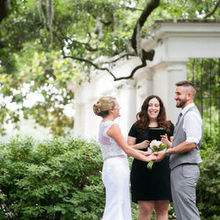 Tracy Brisson- Wedding Officiant- Savannah Custom Weddings & Elopements