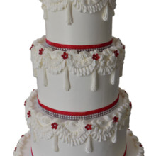220x220 sq 1464227885037 weddingcakes82