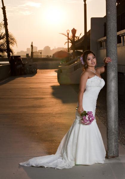 1419015766123 Sunset Bride Portrait Long Beach Denver  wedding photography