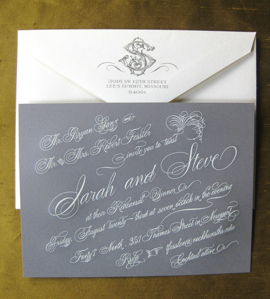 ALEXA PULITZER New Orleans LA Wedding Invitation