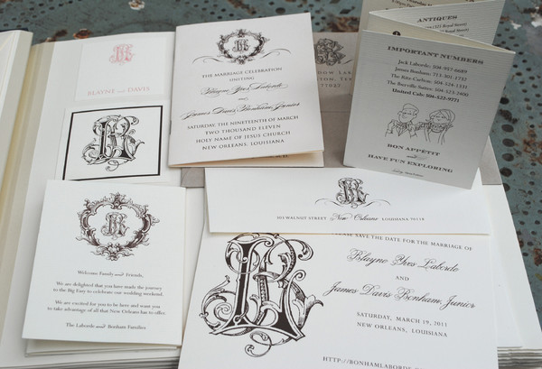 Wedding Invitations New Orleans: New Orleans, LA Wedding Invitation