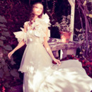 130x130 sq 1415220244551 kaiya wedding gown capelet by angelo lambrou